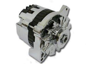 Chrome 135 Amp High Output GM small case Alternator
