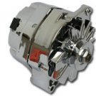 1 Wire Chrome 100 amp GM Chevy Buick Pontiac Alternator