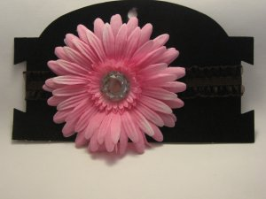 Pink Flower Headband (Infants/Toddlers)