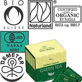 ORGANIC GreenTea (Certified)