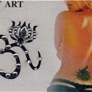 Choose from 27- BODY TATTOO TEMPORARY ART STICKER bindi
