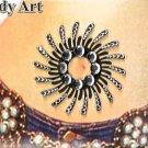12 unique BODY TATTOOs temporary Belly stickers bindi