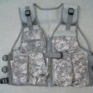 Kids Tactical Combat Vest ACU Digital Camouflage 9 Pockets Adjustable