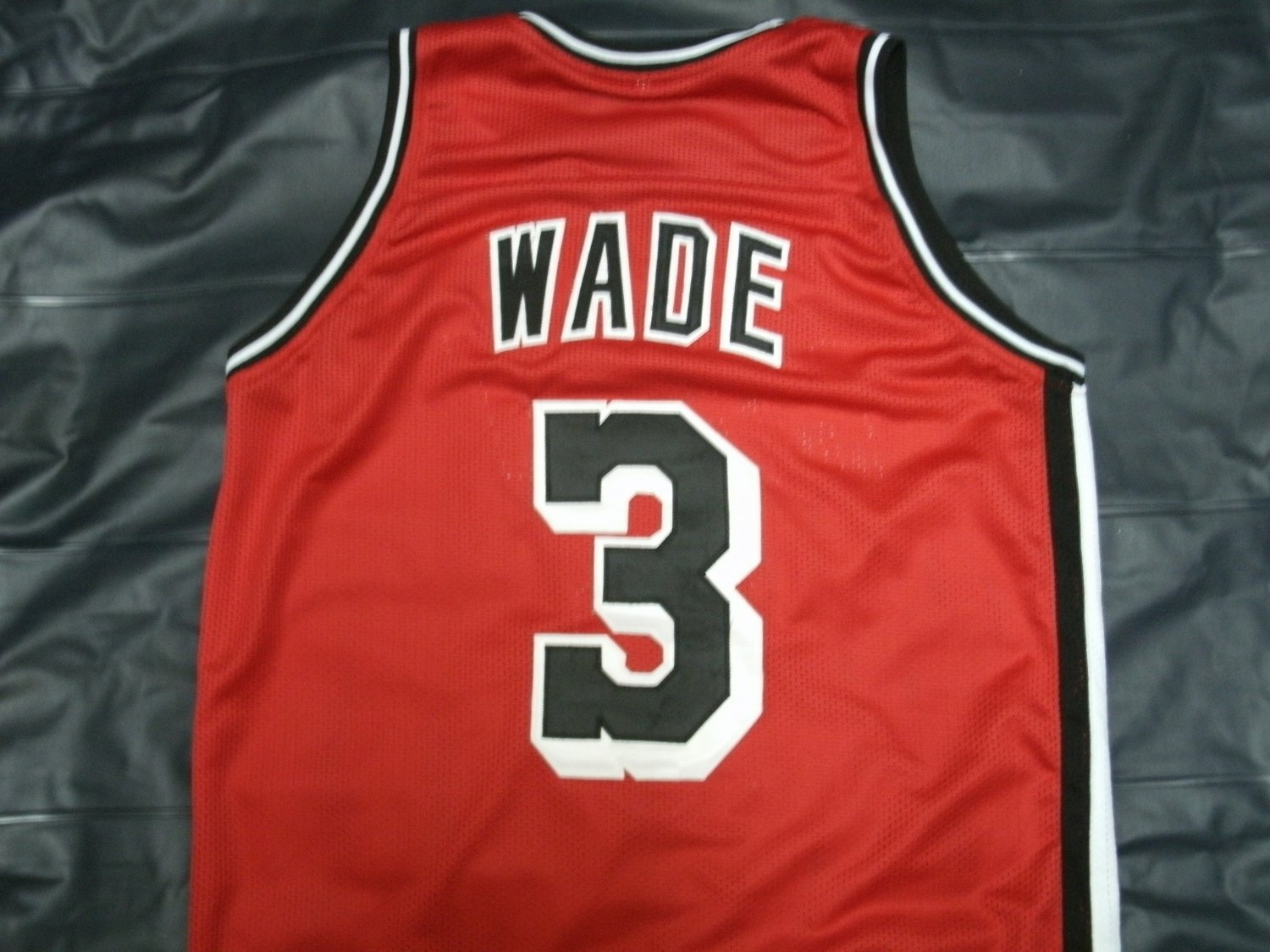 new concept ef456 89ece DWYANE WADE HEAT ALTERNATE RETRO JERSEY ALL SIZE