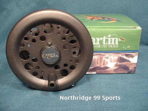 Martin Caddis Creek Fly Reel Model CC68 NEW