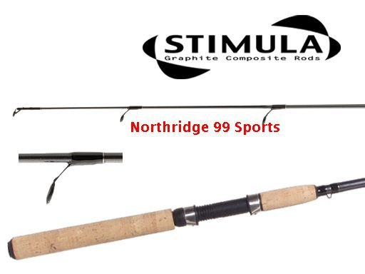 """SHIMANO STIMULA STS 6'6"""" MH Graphite Spinning Rod NEW"""