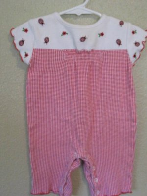 3-6 month ladybug outfit