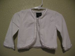 Sz 12 mo White dress sweater from The Children's Place