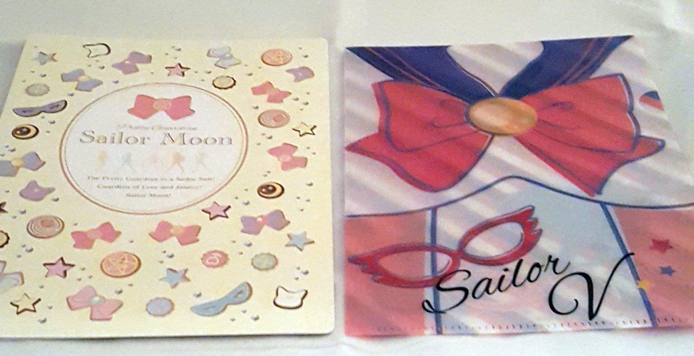 Sailor Moon Mini Clear File Sailor V~ New