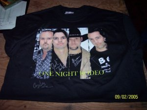 One Night Rodeo T-Shirt (MED)