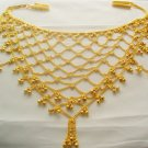 Indian Gold Plated Saree Waist Chain Belt Kamar Bandh Bridal Belly Dance Jewelry