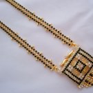 22K Gold Plated American Diamond Mangalsutra Designer Artificial Jewellery