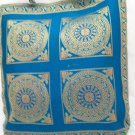 Handcrafted Indian Brocade Silk Handbag Tote Purse