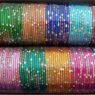 Wholesale Bulk Lot 12X12=144 Bollywood Indian Metal Bangles