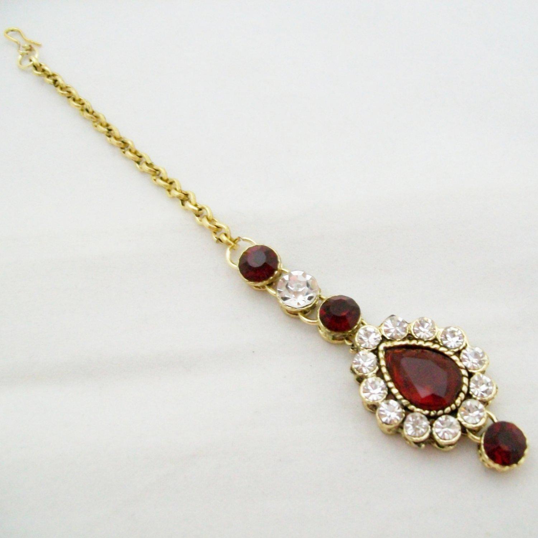 CZ Maang Tikka Wedding Jewelry For Brides