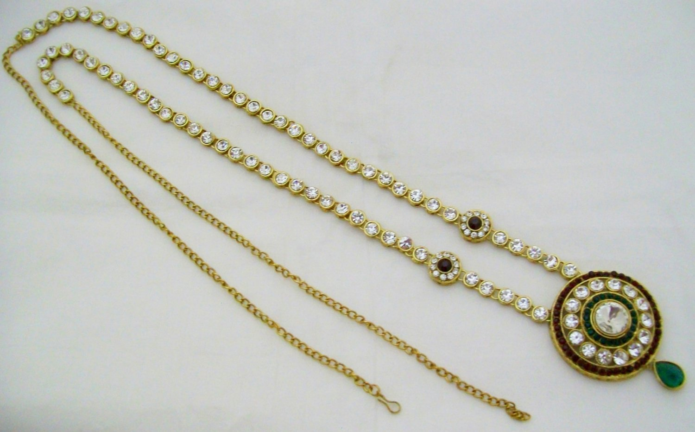 Indian Women Saree Waist Belly Belt Band Chain Jewelry