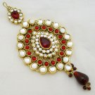 Indian Jhumar Tikka Bollywood Belly Dance Costume Accessory