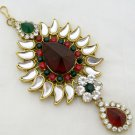 Vintage Kundan Jhumar Passa Hair Head Piece Jewellery