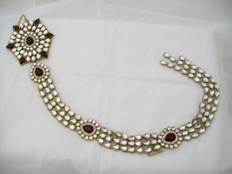 Bohemian Choti Indian Hair Braid Plait Jewelry Accessories For Weddings