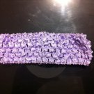 Light Purple Crochet Headband