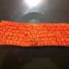 Orange Crochet Headband