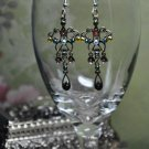 Multicolor Crystal Chandelier Bead Earrings