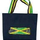 Jamaican tote bag with Jamaican colours