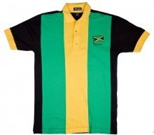 Jamaican Colors Polo Shirt