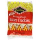 Excelsior Jamaican Water Crackers, 10.57-Ounce Packages (Pack of 5)