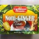 Caribbean Dreams Noni-Ginger Tea 20 Bags (Pack of 6)