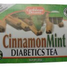 Caribbean Dreams Cinnamon Mint Diabetics Tea (Pack of 3)