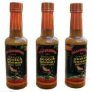 Walkerswood Hot Jamaican Scotch Bonnet Pepper Sauce (Pack of 3)