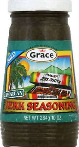 GRACE MILD JERK SEASONING, 10 OZ