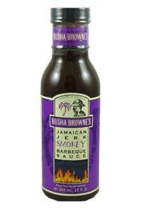 Busha Browne�s Smokey Jamaican Jerk Barbecue Sauce, 12oz (pack of 2)
