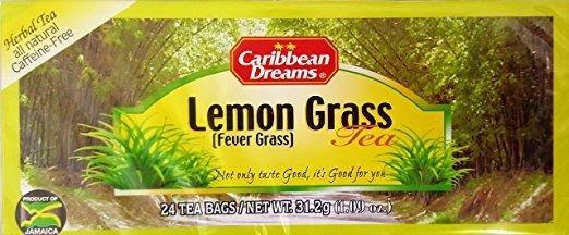 CARIBBEAN DREAMS LEMON GRASS TEA 24 BAGS