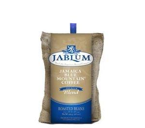JABLUM 100% JAMAICAN BLUE MOUNTAIN COFFEE BLEND 16 OZ ROASTED BEANS