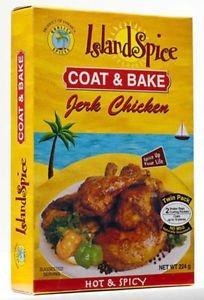 ISLAND SPICE COAT & BAKE JERK CHICKEN -6 PACKS