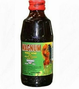 JAMAICAN MAGNUM TONIC WINE 200 ml  (3 BOTTLES )