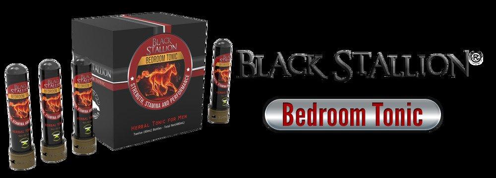 BLACK STALLION HERBAL BEDROOM  TONIC ( 5 CASES) 12 BOTTLES PER CASE