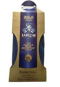 100% JAMAICA BLUE MOUNTAIN COFFEE JABLUM GOLD 1 LB WHOLE BEANS