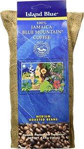 ISLAND BLUE JAMAICAN MOUNTAIN COFFEE ROASTED BEANS 10 LBS