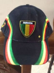 BALL CAP WITH JAMAICAN COLORS