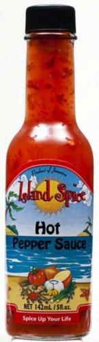ISLAND SPICE HOT PEPPER SAUCE 5 OZ (PACK OF 6)