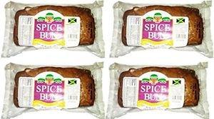 HTB GENUINE JAMAICAN SPICE BUN,  (4 PACK)