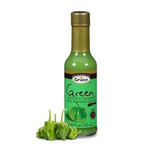 GRACE GREEN SCOTCH BONNET PEPPER SAUCE (PACK OF 4)