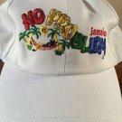 JAMAICAN NO PROBLEM MON BALL CAP WHITE