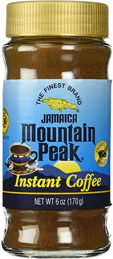 JAMAICA MOUNTAIN PEAK INSTANT COFFEE 6 OZ (PACK OF 2)