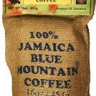 RIDGELYNE 100% JAMAICA BLUE MOUNTAIN COFFEE WHOLE BEANS 1 POUND