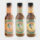 Pickapeppa Mixed Package of hot, spicy and gingery mango sauces