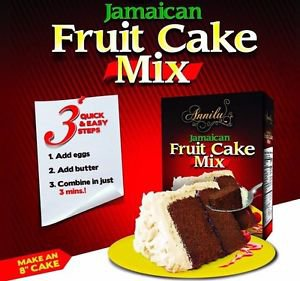 Annilu Jamaican Fruit Cake Mix  773 g ( pack of 3)